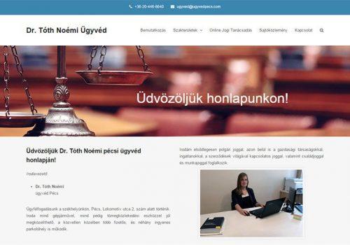 Dr. Tóth Noémi ügyvéd