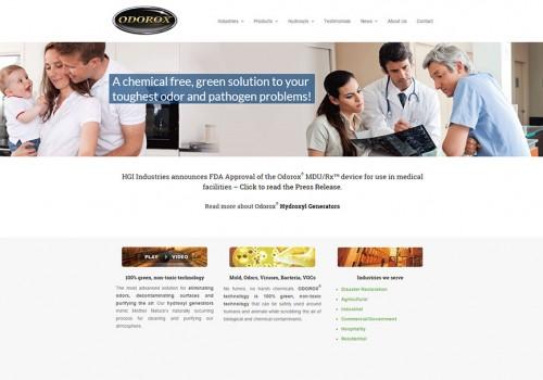 Weblapkészítés – HGI Industries Inc.