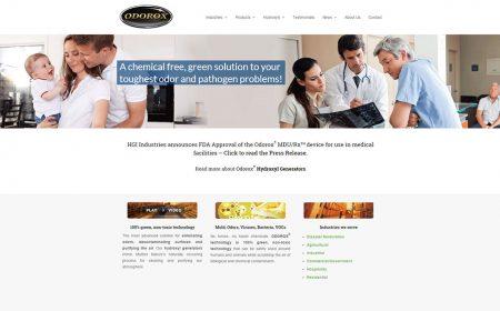 Weblapkészítés Referencia - Odorox