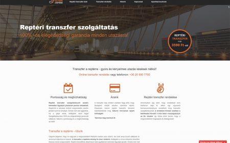 Transzferarepterre Weblapkészítés Referencia