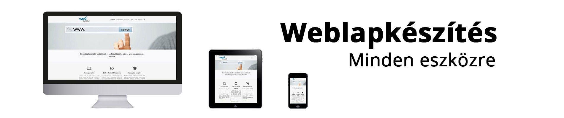 weblapkészítés és honlapkészítés Pécs