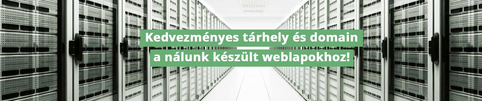 Webtárhely és Domain Regisztráció Pécs