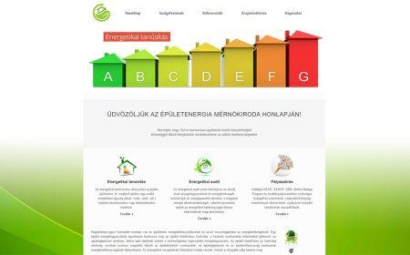 Weblap Készítés Referencia - Energetikai Tanúsítás