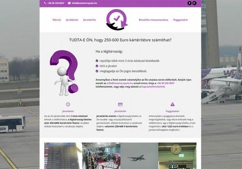 Késett A Repülő – Weblapkészítés