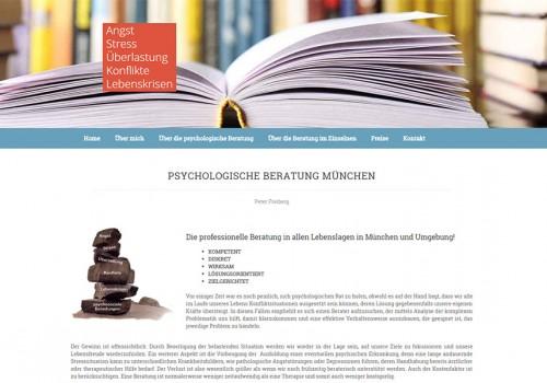 Weblapkészítés – Psychologische Beratung München