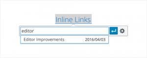 Egyszerűbb link szerkesztés a wordpress 4.5 alatt