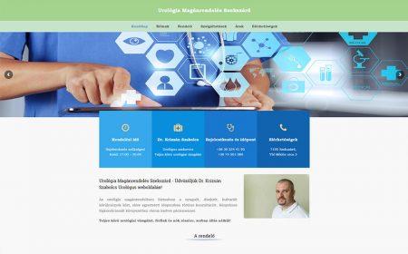 Weblapkészítés Dr. Krizsán Szabolcs Részére