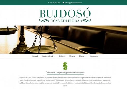 Weboldal Készítés A Bujdosó Ügyvédi Iroda Részére