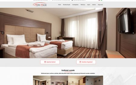 Weblap Készítés A Hotel Makár Részére