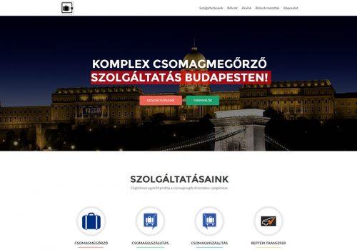 Weblap Készítés – Csomagmegőrző Budapest
