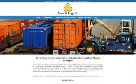 Weboldal Készítés - Savaria Logistic Intermodális Logisztikai Szolgáltató Központ