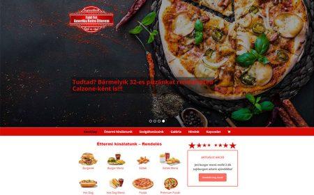 Honlap Az Amerika Retro Étterem Részére