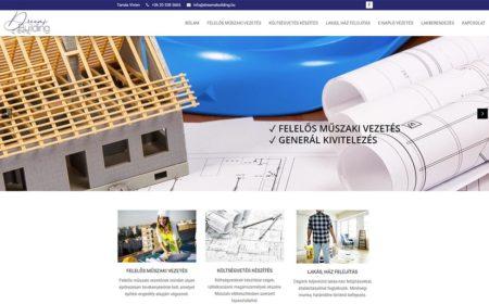 Weblapkészítés A Dreamsbuilding Részére