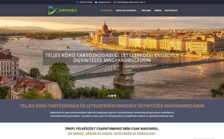 Weboldal Készítés A Dramex Részére