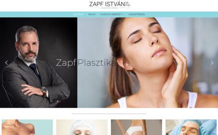 Honlapkészítés Zapf István Plasztikai Sebész Részére